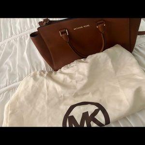 Michael Kors Bags - Michael Kors Selma Saffiano Leather Satchel